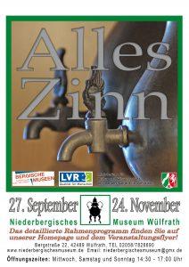 """Eröffnung - Themenprojekt  """"Alles Zinn"""" Museumsnacht @ Museum Niederberg"""
